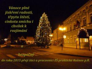 Přání 2015 ZŠ praktická Rožnov p.R
